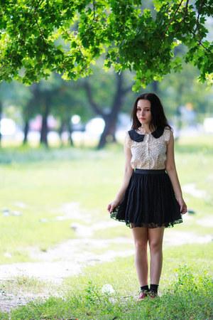 polyester Boohoo skirt