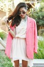 Light-pink-sugarlips-dress-neutral-zara-heels