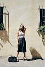 Black-culottes-lush-pants-eggshell-lush-top-black-daniel-wellington-watch