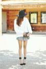 Charcoal-gray-strap-straps-sugarlips-romper-black-strap-sandals-zara-heels