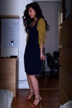 James Perse dress - f21 sweater - Marc Jacobs shoes - Cartier
