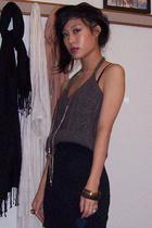 Prada top - Anthropologie skirt