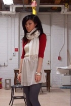 forever 21 sweater - Ralph Lauren top - H&M skirt