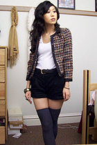 H&M jacket - American Apparel socks - H&M shorts