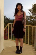 Nordstrom top - forever 21 skirt - Ovation shoes