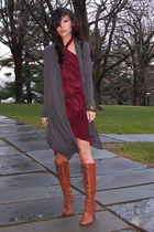 Geren Ford dress - forever 21 sweater - vintage shoes