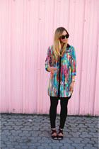 Prabal Gurung for Target blouse - Aritzia leggings - bando heels