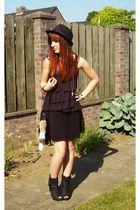 black H&M skirt - black H&M top