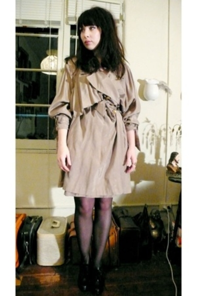 dress - Jeffrey Campbell shoes - American Apparel stockings