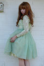 Green-vintage-dress