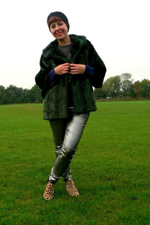 silver silver Arabella and Addison jeans - mustard Topshop boots
