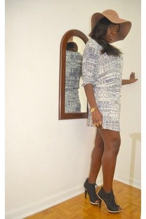 boho style H&M dress - H&M hat