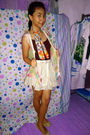 Yellow-unbranded-shoes-miss-sixty-skirt-xbf-vest-brown-guess-top-orange-