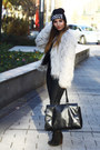 Choies-hat-asos-jacket-zara-pants