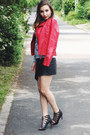 Mango-jacket-sheinside-sweatshirt-choies-skirt-zara-heels