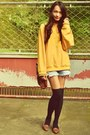 Satchel-bag-pearly-shorts-mustard-yellow-jumper