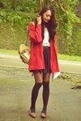 Cotton-on-shirt-tights-bag-big-red-cardigan-top-loafers