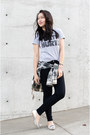 Skinny-henry-belle-jeans-jcpenney-shirt-silver-zara-loafers