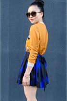pullover 31 Phillip Lim sweater - skater Forever 21 skirt