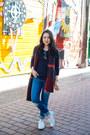Distressed-gap-jeans-tribal-olive-oak-sweater