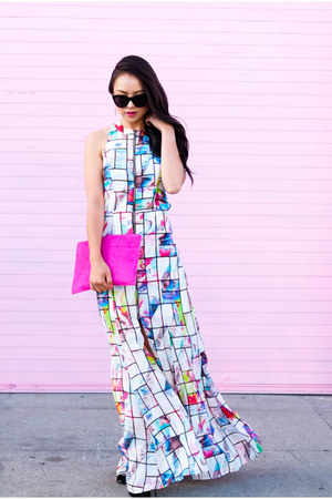 maxi dress Talulah dress - cat eye Le specs sunglasses