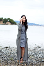 floor length TART Collections cardigan - t-shirt tildon dress