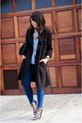 Trench-coat-h-m-jacket-chambray-gap-shirt-lace-up-zara-heels