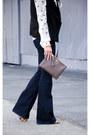 Wide-leg-mih-jeans-jeans-clutch-gigi-new-york-bag