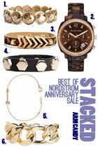 rhinestone Nordstrom bracelet - chainlink cuff Nordstrom bracelet