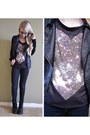 Navy-skinny-jeans-forever21-jeans-black-leather-accent-forever21-jacket