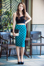 Clutch-dorothy-perkins-bag-crop-forever-21-top-pencil-forever-21-skirt
