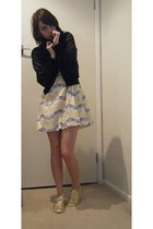 Converse shoes - Bauhaus dress - Dotti jacket