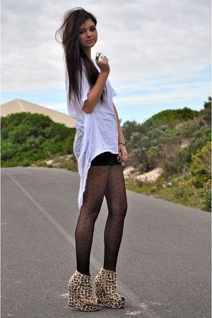 white Rouge  Noir t-shirt