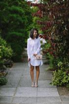 Rebecca Taylor dress - pink Givenchy bag - python rupert sanderson heels