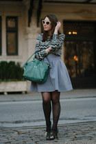 black chevron Missoni X Target blouse