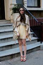snakeskin Remi&Emmy bag - Forever21 sunglasses - snakeskin Dolce & Gabanna heels