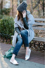 Heather-gray-zara-coat-blue-silver-jeans-co-jeans-charcoal-gray-h-m-hat