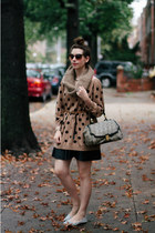 light brown polka dot Old Navy sweater