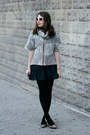 Black-lace-free-people-dress-heather-gray-shui-chen-new-york-sweater