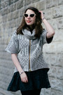 Black-lace-free-people-dress-heather-gray-shui-chen-new-york-sweater