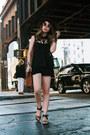 Black-do-be-blouse-dark-brown-cheetah-print-shoemint-sandals