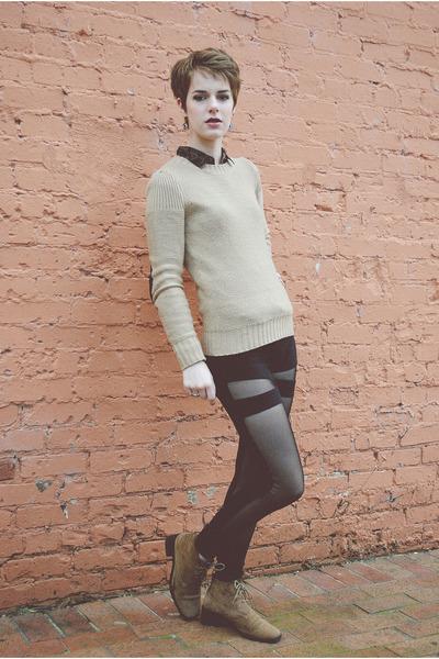 black mesh Urban Outfitters leggings