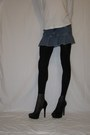 Claires-tights-zara-heels-claires-skirt
