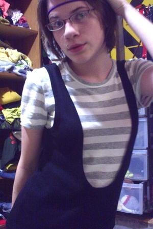 Old Navy shirt - H&M dress