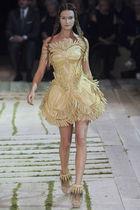 beige Alexander McQueen dress - beige Alexander McQueen shoes