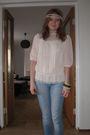 Beige-h-m-blouse-blue-h-m-jeans-white-bik-bok-brown-indiska-bracelet-bei