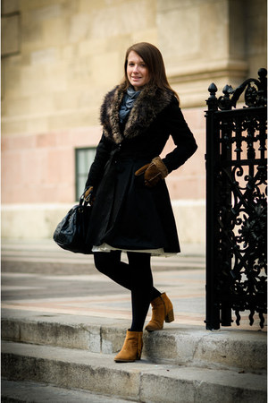 H&M coat - SH skirt