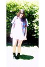White-wrangler-dress-wintage-shirt-black-zara-boots