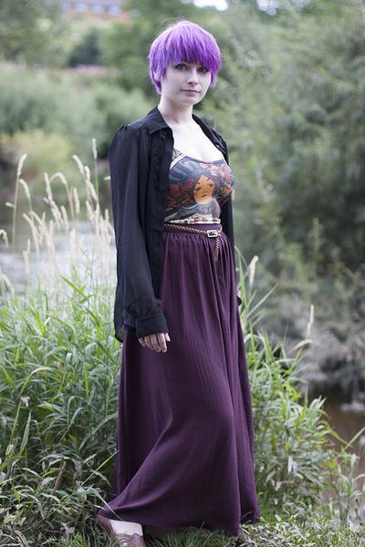 Black Milk dress - Topshop skirt