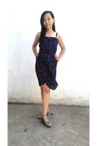 navy La Redoute dress